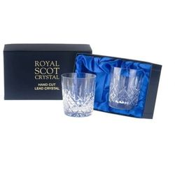 Royal Scot Crystal Szklanki London do Whisky 330ml 2szt.