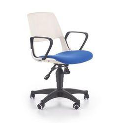 Halmar Jumbo fotel młodzieżowy biało - niebieski