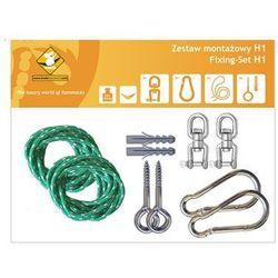 Zestaw montażowy H1 do hamaków, Zielony koala/zh1 z kategorii Pozostałe poza domem