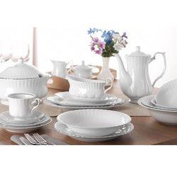 CHODZIEŻ IWONA PLATYNOWA LINIA Serwis obiadowy i kawowy 84/12 B357