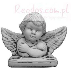 Figura ogrodowa betonowa aniołek 21cm