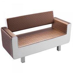 Gabbiano sofa do poczekalni turyn brązowo - beżowa marki Vanity_a