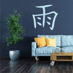 szablon malarski znak japoński deszcz 2184