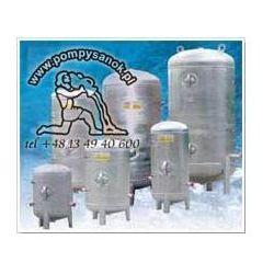 Zbiornik hydroforowy ocynkowany 1000L, Zbiornik 1000L