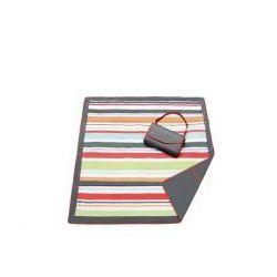 Koc piknikowy w kolorowe paski,  wyprodukowany przez Jj cole
