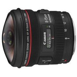 ef 8-15 mm f/4 l fisheye usm - produkt w magazynie - szybka wysyłka! od producenta Canon