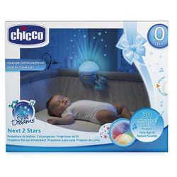 Projektor na łóżeczko niebieski