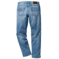 Dżinsy z wzmocnionym krokiem STRAIGHT bonprix jasnoniebieski, jeansy