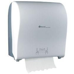 Mechaniczny podajnik ręczników papierowych w roli solid cut automatic maxi- biały mat marki Merida