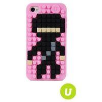 UANYI EUROPE PixelBags Etui na iPhone 5/5S, Różowe