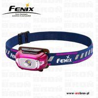 Latarka czołowa Fenix HL15 Pink - 200 lm, zasięg 50m, dla biegaczy