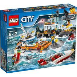 60167 KWATERA STRAŻY PRZYBRZEŻNEJ (Coast Guard Head Quarters) KLOCKI LEGO CITY rabat 6%
