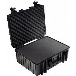 B & w international Walizka narzędziowa bez wyposażenia, uniwersalna  6000/b/si (sxwxg) 510 x 215 x 419 mm (4031541703439)