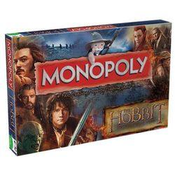 Gra Monopoly z filmu Hobbit Desolation of Smaug - wersja angielska (WIMO21593), towar z kategorii: Gry planszo