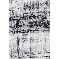 Biało czarny dywan nowoczesny Metro B&W
