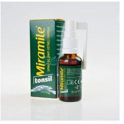 MIRAMILE TONSIL Spray do jamy ustnej i gardła - 30 ml - produkt z kategorii- Pozostałe środki dentystyczne