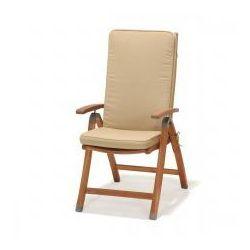 Krzesło składane z podłokietnikami z poduszką Catalina, 71421