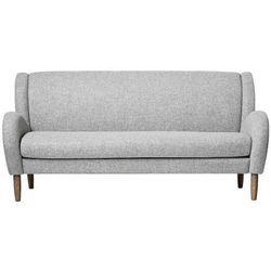 Szara sofa skandynawska Chill, wełna - Bloomingville, kolor szary