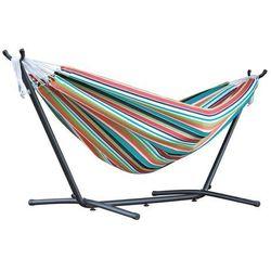 Hamak Sunbrella + stojak metalowy 8f, Kolorowy C8SUN