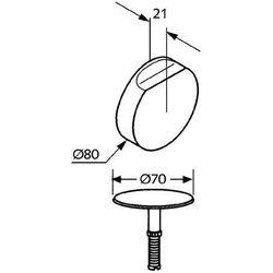 Kludi Elementy zewnętrzne syfonu  rotexa 2000 7106605-00, kategoria: pozostałe artykuły hydrauliczne