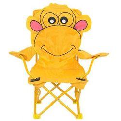 Krzesełko campingowe Żółta Małpka PATIO, towar z kategorii: Pozostałe meble ogrodowe