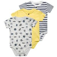 Carter's STRIPE 3 PACK Body heather