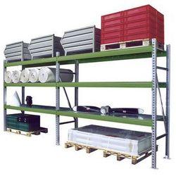 System regałów do dużych obciążeń,zestaw, szer. x gł. x wys. 5610 x 800 x 2500 mm