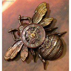 Zegar pszczoła osa ścienny steampunk marki Veronese