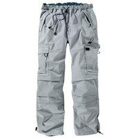 Bonprix Spodnie bojówki loose fit straight  jasnoszary