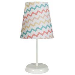 Candellux Stojąca lampa stołowa river 41-63021 biurkowa lampka klasyczna do pokoju dziecięcego abażurowa multikolor (5906714863021)