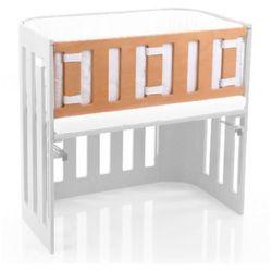 TOBI Babybay Barierka do łóżeczka dostawnego Trend, lite drewno bukowe lakierowane, kolor naturalny - produkt z kategorii- Pozostałe meble do pokoju dziecięcego