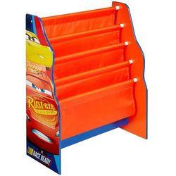 regał na książki auta (cars), pomarańczowy, 51 x 23 60 cm marki Disney