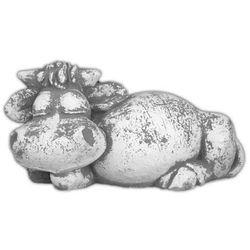 Figura ogrodowa betonowa śpiąca krówka 25cm