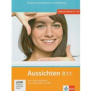 Aussichten B1.1 Podręcznik Z Ćwiczeniami + 2cd (216 str.)