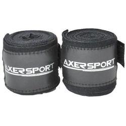 Bandaż bokserski AXER SPORT A1659 Czarny (4 m) - sprawdź w wybranym sklepie