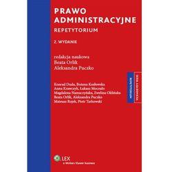 Prawo administracyjne. Repetytorium, rok wydania (2012)