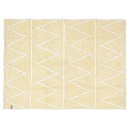 Dywan do prania w pralce: Hippy - Yellow (120x160 cm) - produkt z kategorii- Dywany dla dzieci