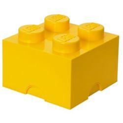POJEMNIK LEGO 4 ŻÓŁTY - LEGO POJEMNIKI, 4003