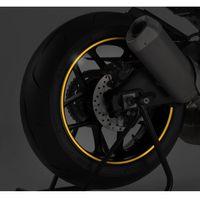 Żółty fluorescencyjny pasek  na felgi (z aplikatorem) marki Puig