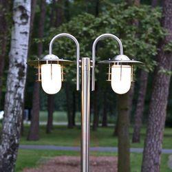 Lampenwelt.com 2-punktowa latarnia mian ze stali szlachetnej