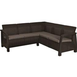 KETER sofa ogrodowa CORFU RELAX brązowa (3253928059026)