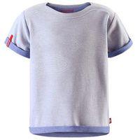 T-shirt koszulka Reima z krótkim rękawem Kippari jasnoniebieski melanż ()