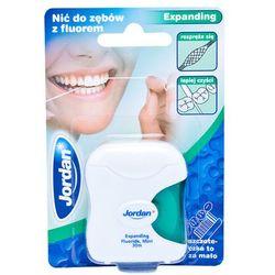 JORDAN Expanding Floss - Rozszerzająca się nić dentystyczna - produkt z kategorii- Nici dentystyczne