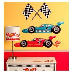 naklejki wyścig grand prix wyprodukowany przez Wallies