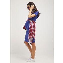 MAMALICIOUS MLANETTE Sukienka z dżerseju deep ultramarine - produkt z kategorii- Sukienki ciążowe