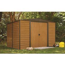 Arrow Blaszany domek ogrodowy woodridge 3,1 x 2,4 m