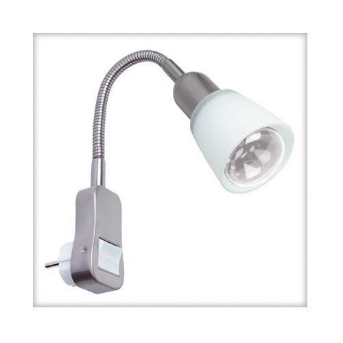 Flexus II lamka z wtyczką max.1x40W E14 chrom-mat - oferta [05b56a28f5a574d0]