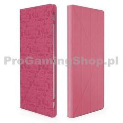 "Bush Canyon""Life Is"" OUN-C24UT10 do Lenovo IdeaTab S6000L, Pink z kategorii Pokrowce i etui na tablety"
