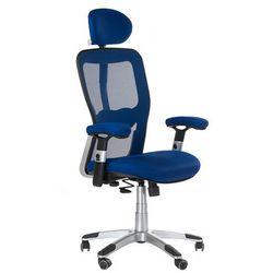 Fotel ergonomiczny bx-4147 niebieski marki Corpocomfort