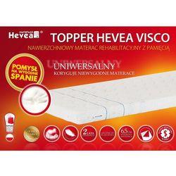 HEVEA TOPPER VISCO 200x140 + Gratis poduszka Visco!!